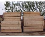 建筑木方 库存区